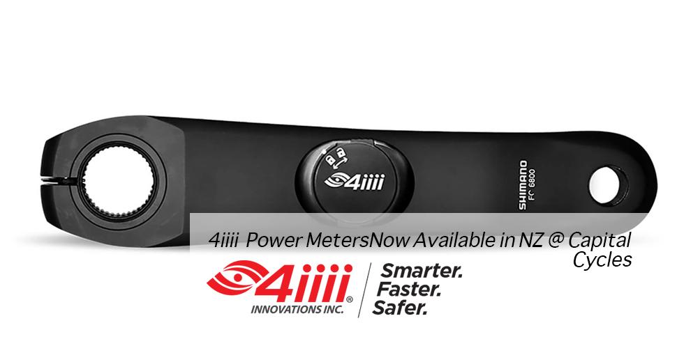 4iiii Power Meters Now Available