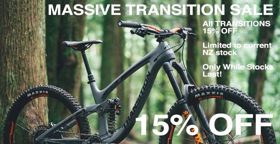 Transiton sale 15% off