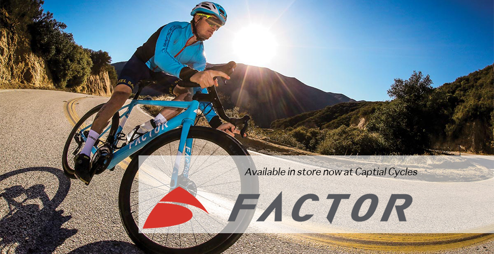 FACTOR BIKES INSTORE NOW