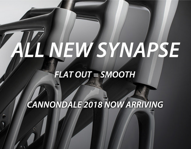 all new 2018 cannondale synapse