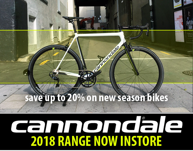 2018 CANNONDALE ROAD RANGE NOW HERE!