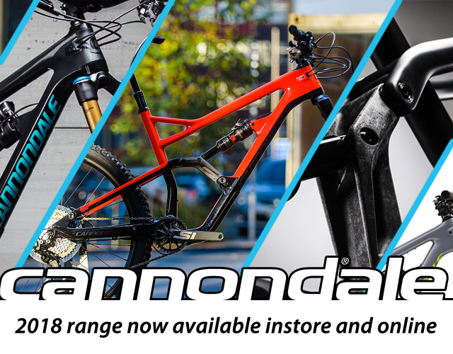 CANNONDALE 2018 MTB RANGE NOW HERE