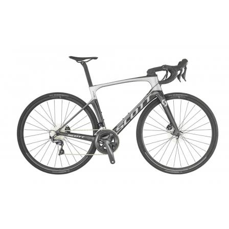 SCOTT FOIL 20 SILVER/BLACK BIKE