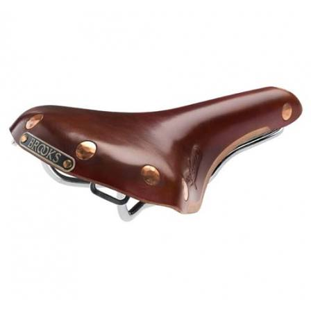 Brooks Swift Titanium Brown Saddle
