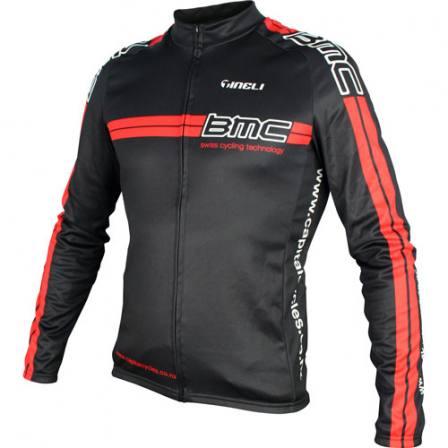 BMC Long Sleeve Jersey - Red Stripe