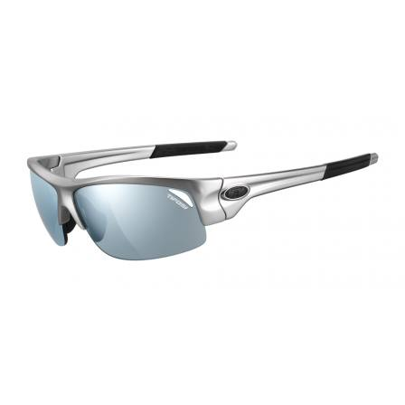 Tifosi Saxon Gloss Gunmetal frames with SmokeBright Blue Lens