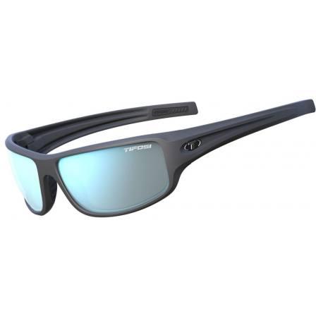 Tifosi Bronx Matte Gunmetal with Light Blue Smoke Lens