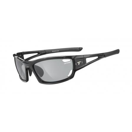 Tifosi Dolomite 2.0 Gloss Black with Smoke Polarized Fototec Lens