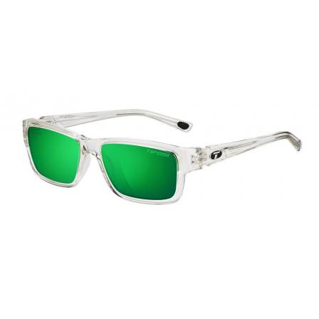 Tifosi Hagen Crystal Clear with ClarionGreen Polarized lens