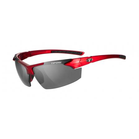 Tifosi Jet FC Metallic Red with Smoke Lens