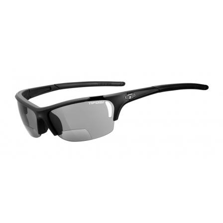 Tifosi Radius Matte Black with Smoke Reader +2.0 lens