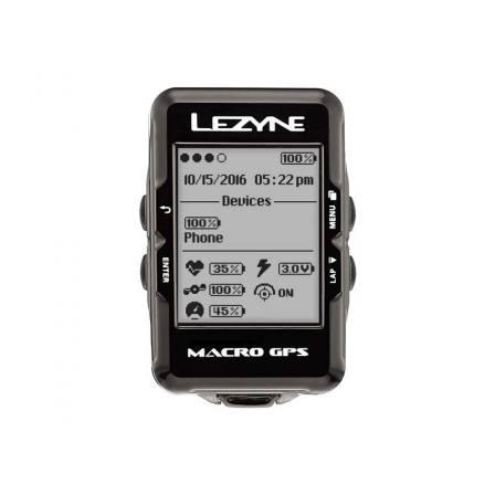 Lezyne Macro GPS Bike Computer