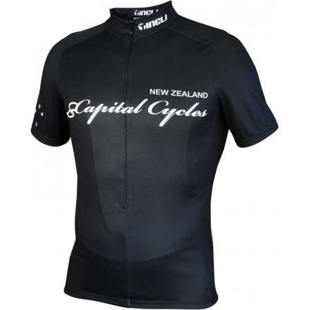 Capital Cycles Black #13 Jersey