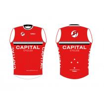Capital Cycles Red Vest