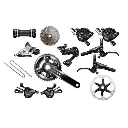Shimano Deore XT M8000 11speed groupset