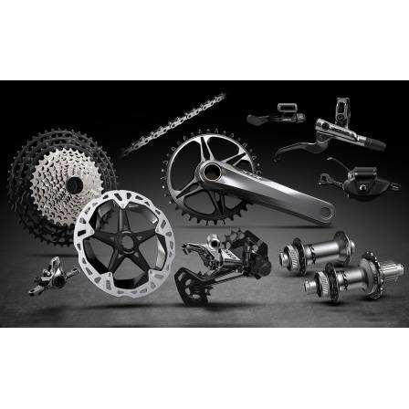 Shimano XTR M9100 12 Speed Groupset Includes Hubs and Brakes