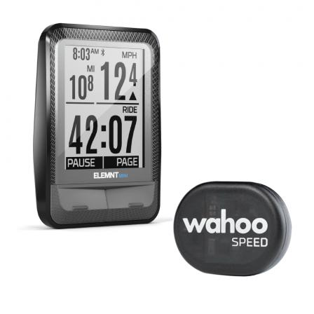 Wahoo ELEMNT MINI Bike Computer (inc. Speed Sensor)